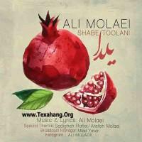 متن آهنگ شب طولانی از علی مولایی