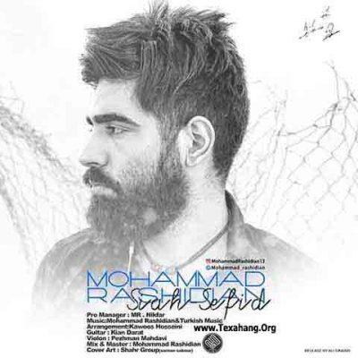 متن آهنگ جدید سیاه سفید از محمد رشیدیان