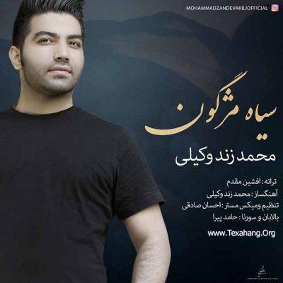 متن آهنگ سیاه مژگون از محمد زند وکیلی