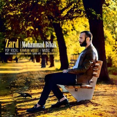 متن آهنگ زرد محمد بیباک
