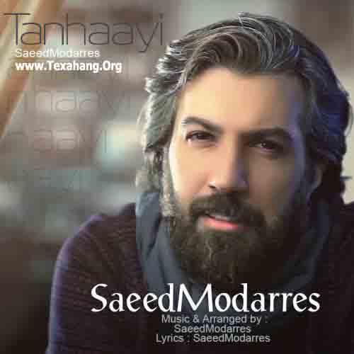متن آهنگ جدید تنهایی از سعید مدرس