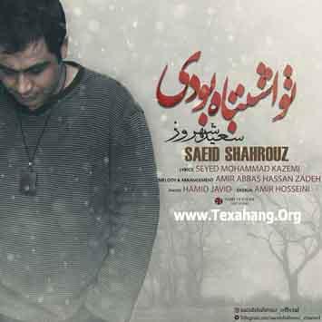 متن آهنگ جدید تو اشتباه بودی از سعید شهروز